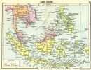 ASIA: East Indies;  Small map, 1912